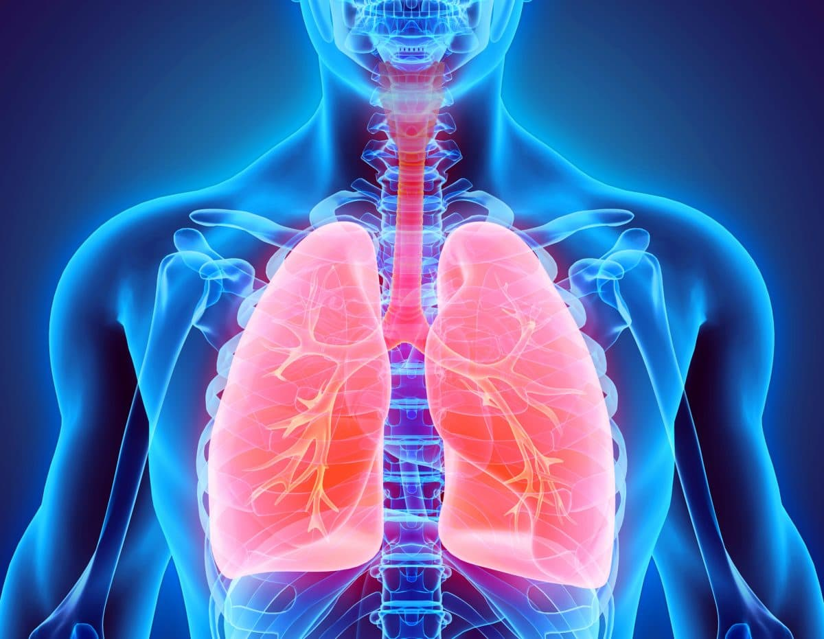 Emphysema occurs when there is damage to the air sacs in your lungs